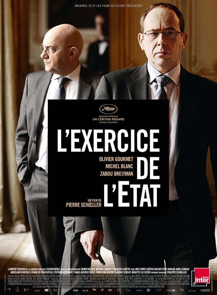 Affiche du film L'exercice de l'Etat sorti en 2011