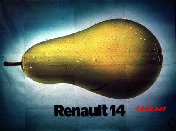 Affiche Renault 14