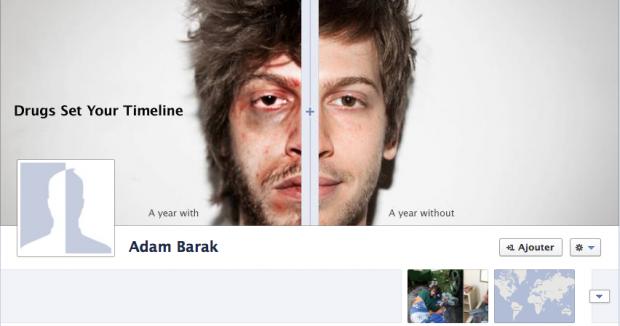 Profil facebook faux d'Adam Barak Janvier 2012