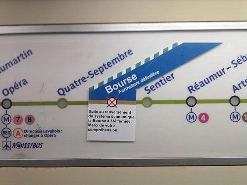 Bourse-metro-station