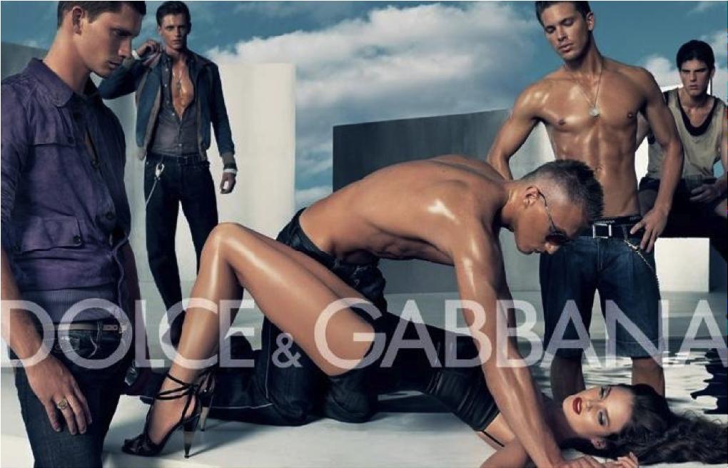 Campagne Dolce&Gabbana choquante