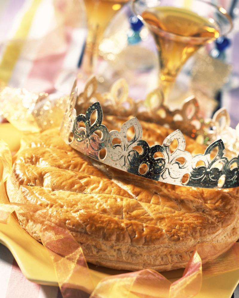 Une galette des rois