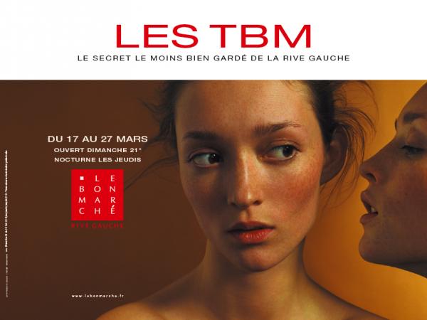 Campagne du Bon Marché pour les TBM par Les Ouvriers du Paradis
