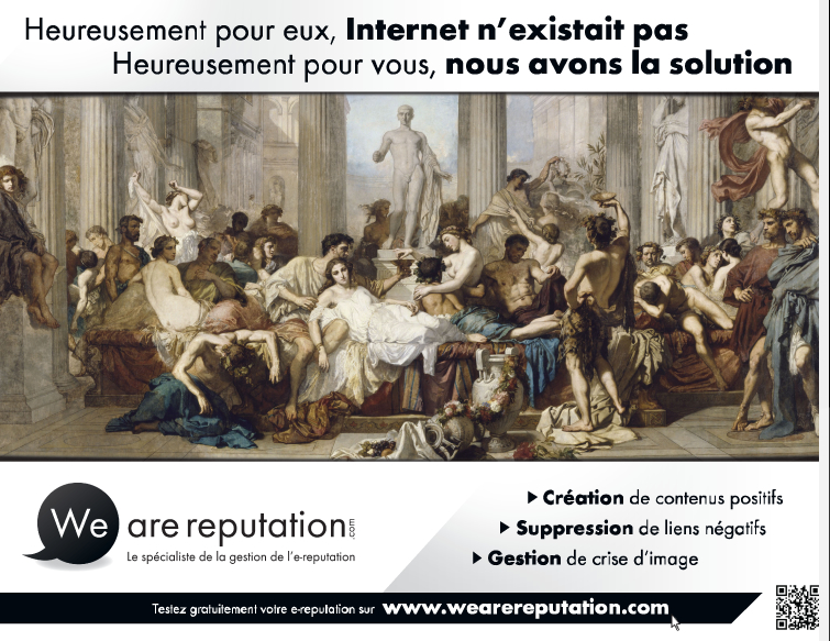 Affiche We Are Reputation