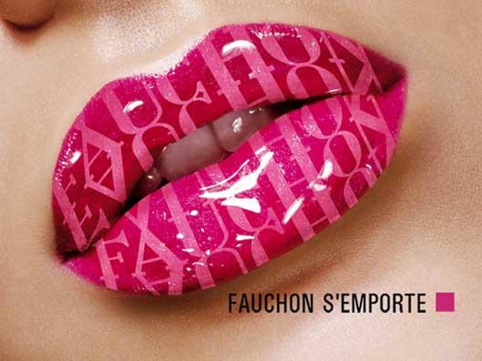 Affiche Fauchon Bouche 2004