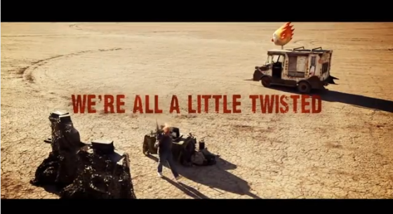 "Twisted Metal ""Shoot my truck"" Capture d'écran"