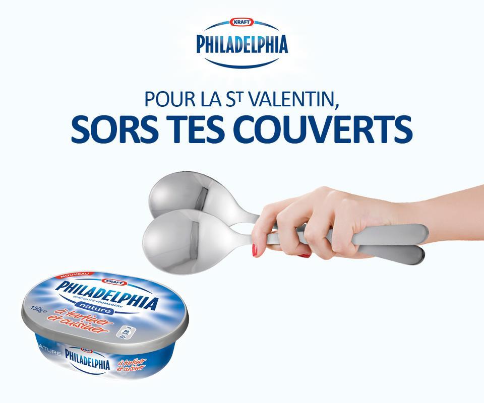 affiche Philadelphia pour la st-valentin