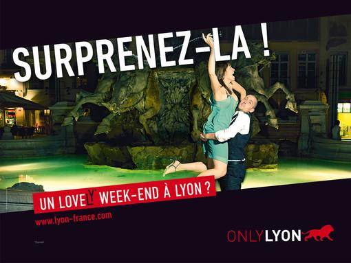 Campagne pour Lyon en 4x3 dans Paris 2012