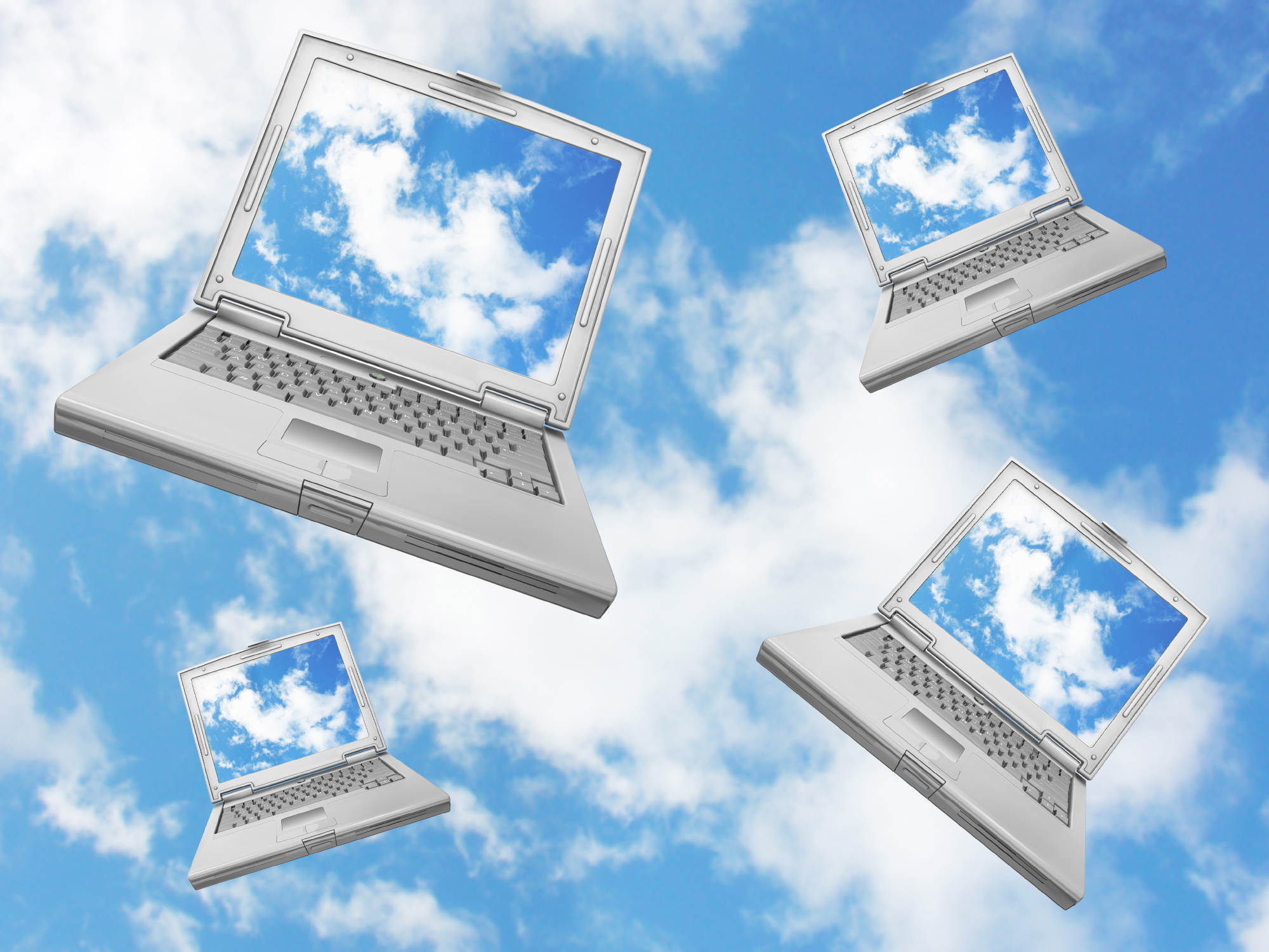 Falling laptops