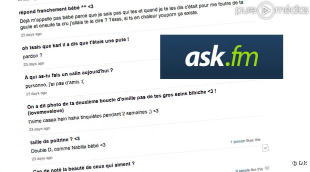 exemple de ask.fm