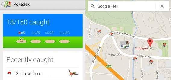pokemon sur google maps