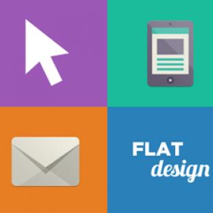 Le « flat design » : le graphisme minimal à succès