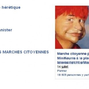 Marches Facebookiennes