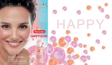 publicité l'oréal