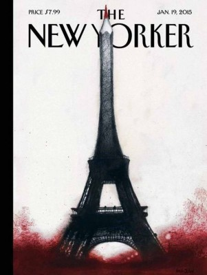 New yorker je suis charlie