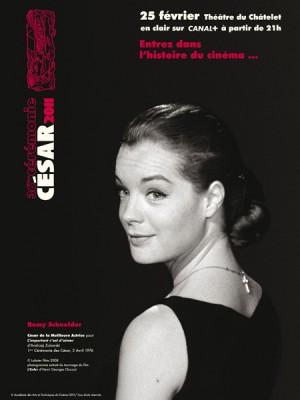 Cesar 2011 affiche Romy Schneider Fastncurious