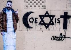 coexist street art fastncurious