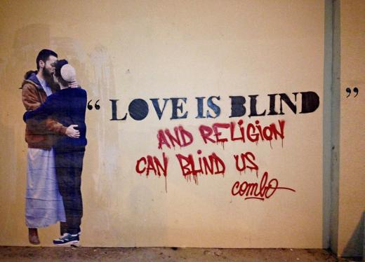 combo love is blind street art fastncurious
