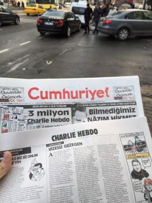 journal turquie charlie hebdo