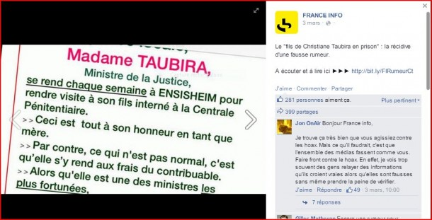 rumeur taubira facebook fastncurious