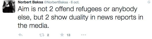 Tweet Norbert Baska