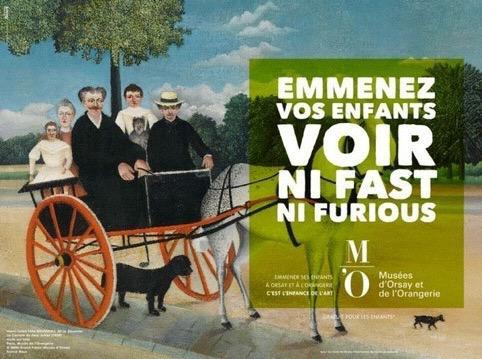 Exposition musée de l'Orangerie