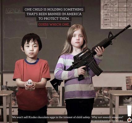 Campagne de publicité anti-armes