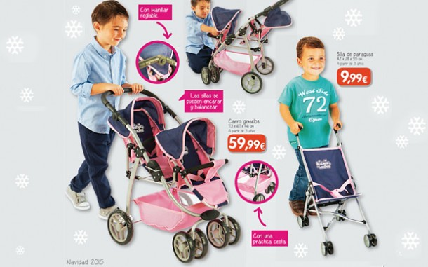 Catalogue neutre de jouets du magasin Toy Planet, novembre 2015