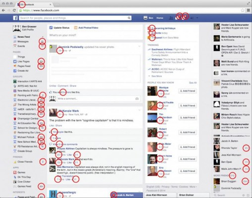 FACEBOOK NOTIFICATION CHIFFRE