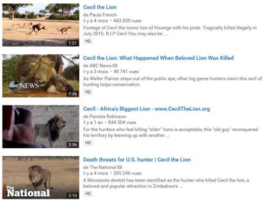 vidéos factuelles