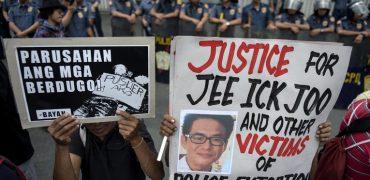 Le président Duterte, boucher des Philippines