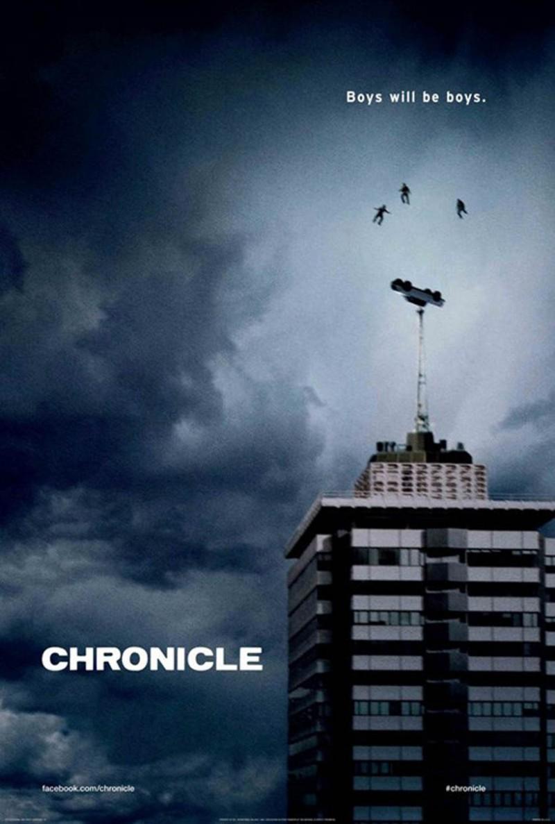 Affiche du film Chronicle sorti en février 2012