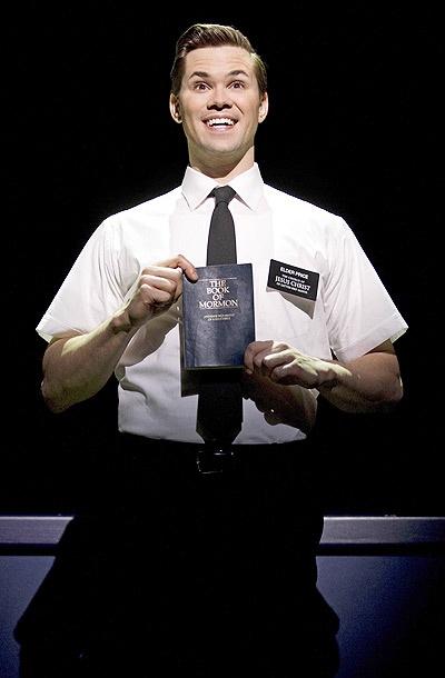 Photo tirée de The Book Of Mormon, comédie musicale de Broadway