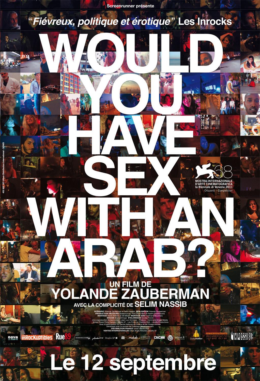 Affiche du film Would you have sex with an arab - sortie en 2012