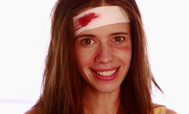 Campagne d'une actrice contre le viol des femmes