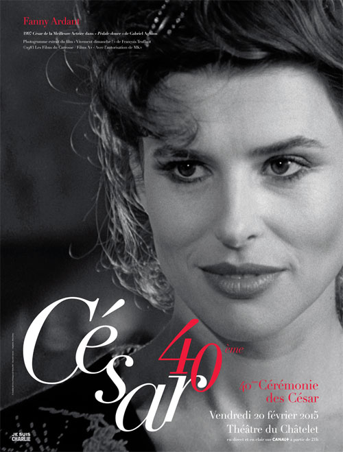César 40ème édition Fanny Ardant