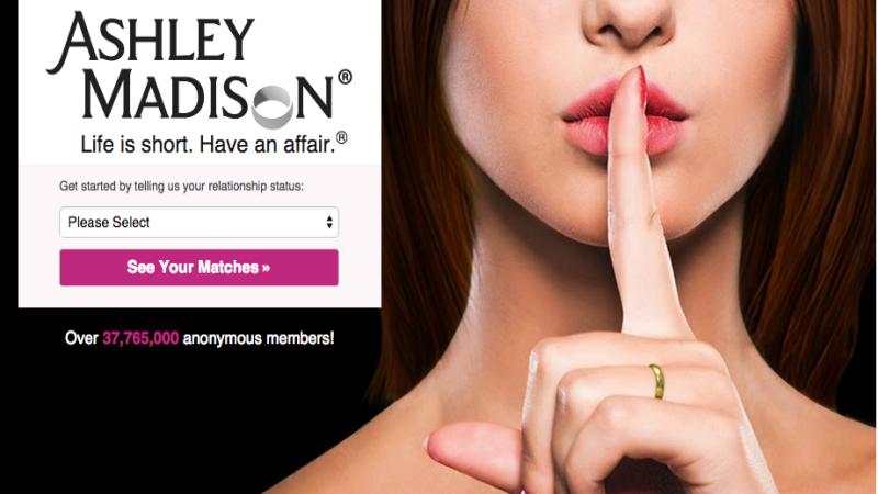 Homepage Ashley Madison